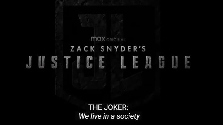 From the 'Justice League' Snyder Cut trailer.