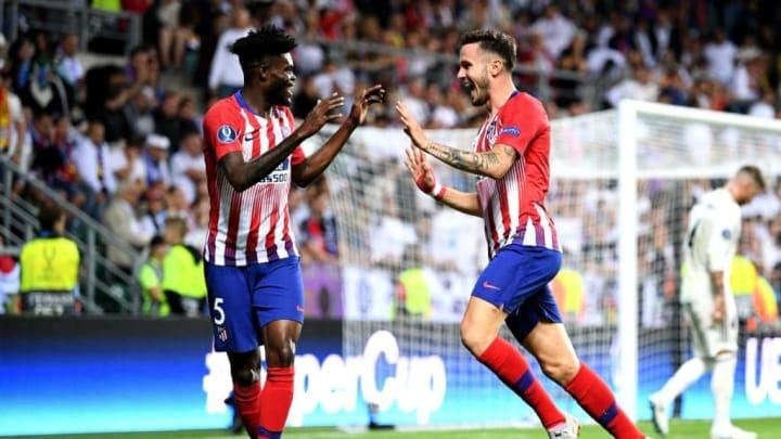 Koke và Thomas Partey chơi ăn ý tại Atletico Madrid