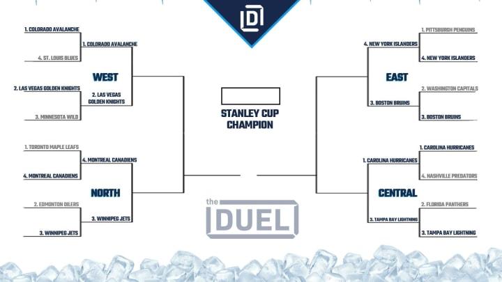 Stanley Cup Playoffs bracket 2021.