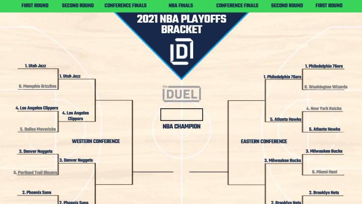 NBA Playoffs bracket heading into Round 2