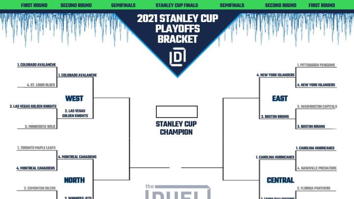 2021 NHL Playoff Bracket.