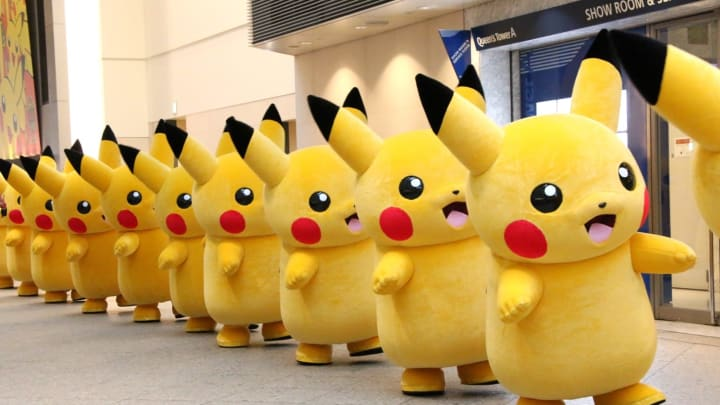 A Pikachu outbreak seems like a good idea, just make sure to pack some rubber gloves
