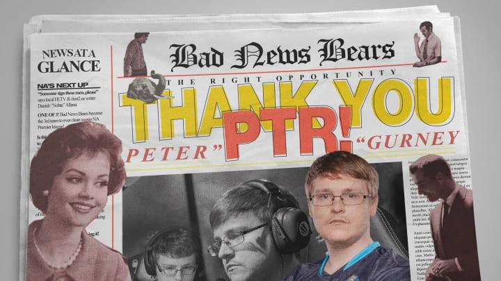 "Peter ""ptr"" Gurney has retired from professional CS:GO."