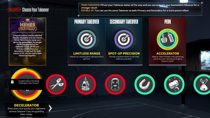 Here's a breakdown of the new Takeover Perks in NBA 2K22 MyCareer on Next Gen.