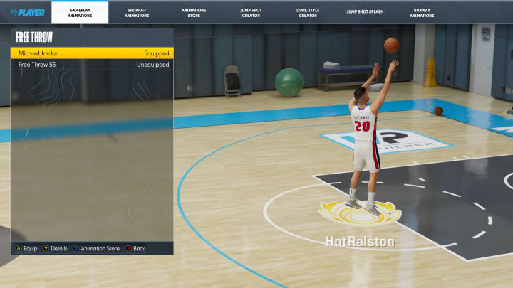 Here are the best free throws to equip in NBA 2K22 MyCareer on Current Gen and Next Gen.