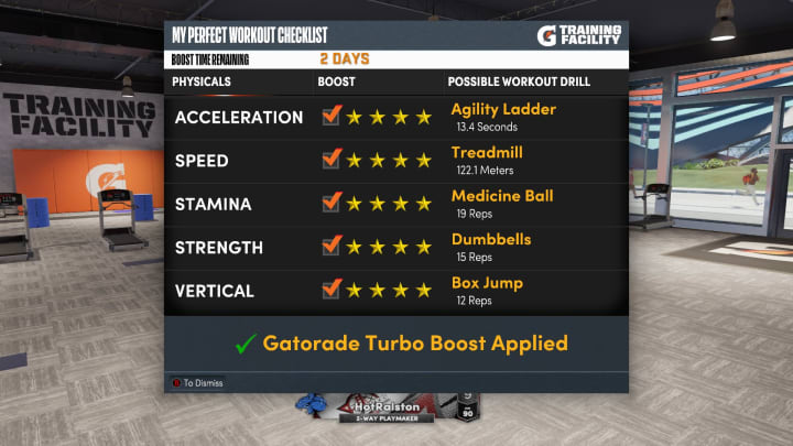 Here are the best Gatorade Training Facility drills to do in NBA 2K22 MyCareer on Current Gen and Next Gen.