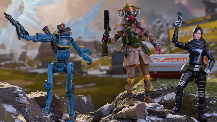 The Jakks Pacific Apex Legends figures are available for pre-order now.