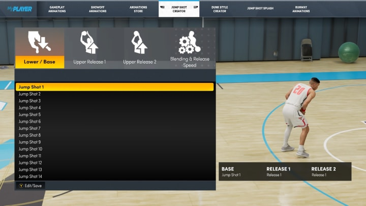 Here's how to unlock the Jump Shot Creator in NBA 2K22 MyCareer.
