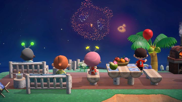 Animal Crossing: New Horizons' second summer update brings fireworks, dream travel and cloud backups.