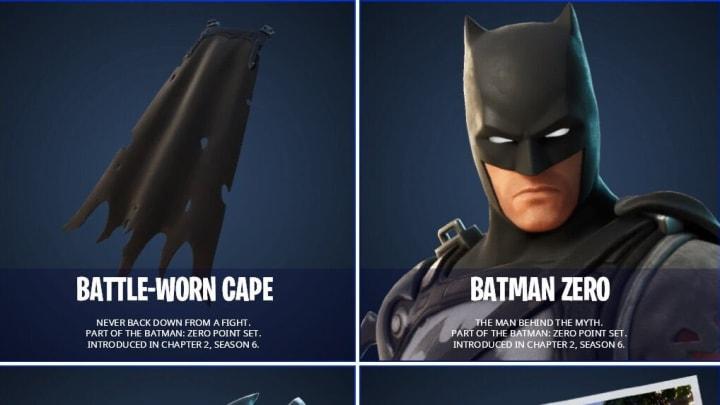 Leaks Batman Zero and Battle-Worn Cape