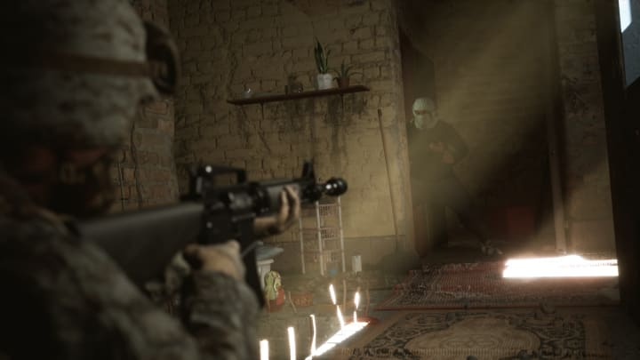 Six Days in Fallujah's creators have admitted to the politics inherent in their game.