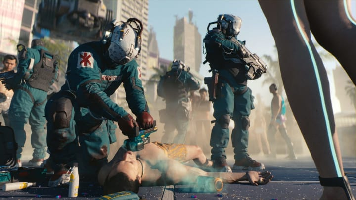 Cyberpunk 2077 has been restored to the PlayStation Store after months of exile.