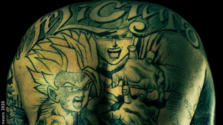 Buffalo Bills Jon Feliciano Has Tattoos On Both Sides Of The Line