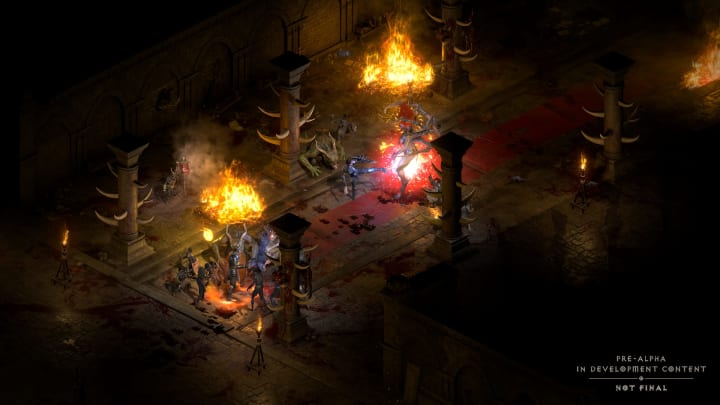 Diablo II: Resurrected won't have crossplay at launch, but Vicarious Visions may add the feature later on.