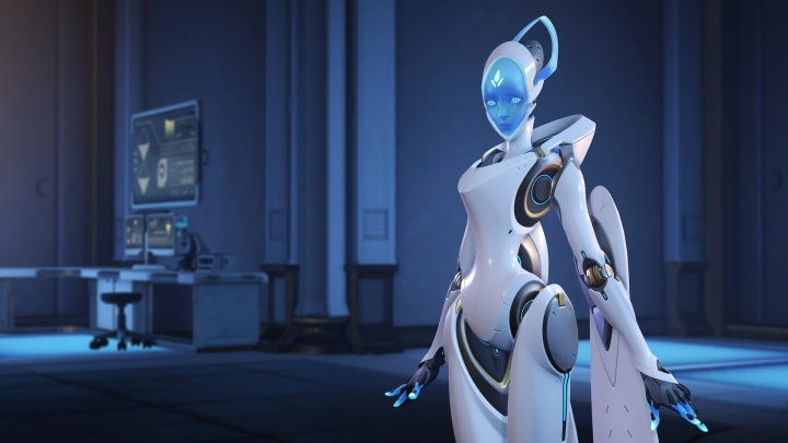 New Echo lore appeared on the Overwatch website Thursday.