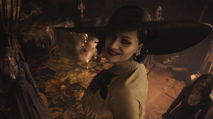 In Resident Evil Village, the Mask of Pleasure is one of four Angel's Masks items need to continuing progressing through Castle Dimitrescu.