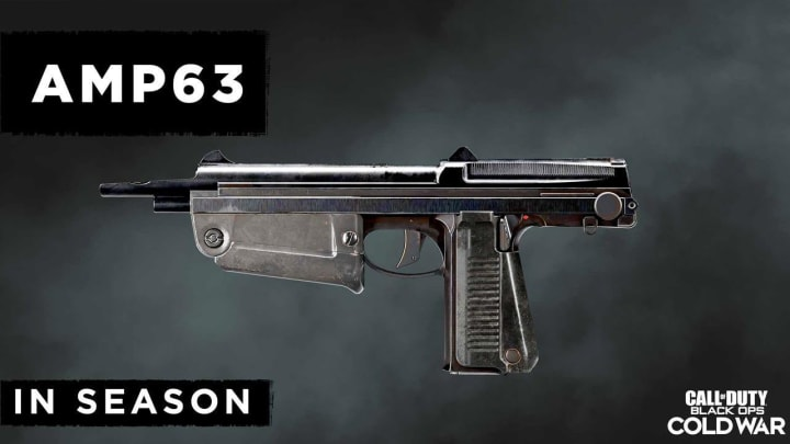 Warzone players are trying to find the best loadout for the new AMP63 sidearm pistol.