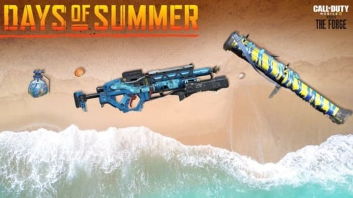 Call Of Duty Mobile Days Of Summer Event Live Now Purifier Legendary Skin H20 Skin