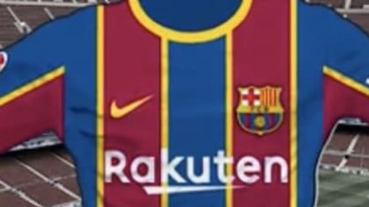 The home kit Barcelona will allegedly wear in 2020/21.
