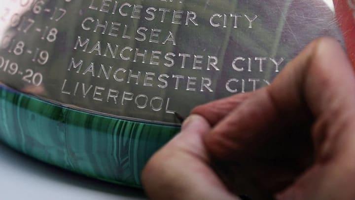 Liverpool Premier League Trophy
