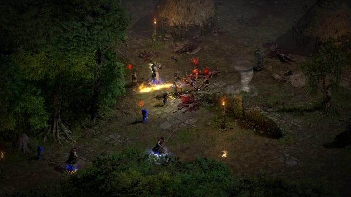 How do you sprint in Diablo II: Resurrected?