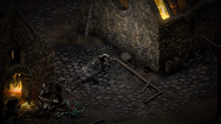 Identifying items in Diablo requires either a Scroll of Identify or a chat with Deckard Cain.