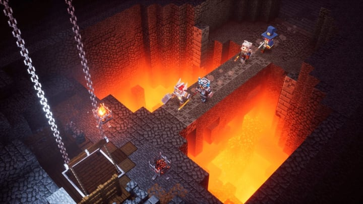 Minecraft Dungeons Lower Temple level may be released with the Jungle Awakens DLC