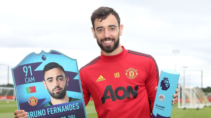 Bruno Fernandes FIFA 20 Player of the Month SBC is now available to be completed.
