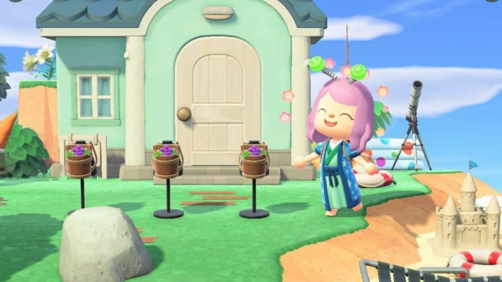 Grape Harvest Basket in Animal Crossing is a new item that was added during the game's latest update.