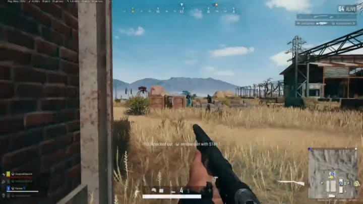 This desperate PUBG player rode a shotgun to a squad wipe against all odds.