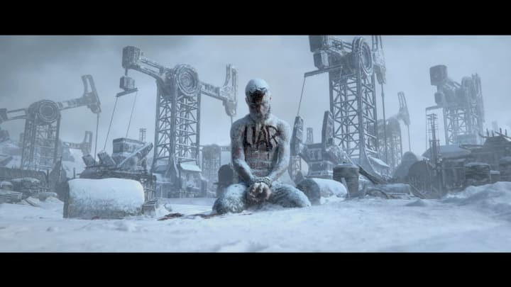 Frostpunk 2 moves the power source from coal to oil.