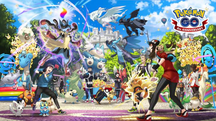 Friendship Habitat Pokémon GO was one of the glitched habitats during Pokémon GO's GO Fest 2020.