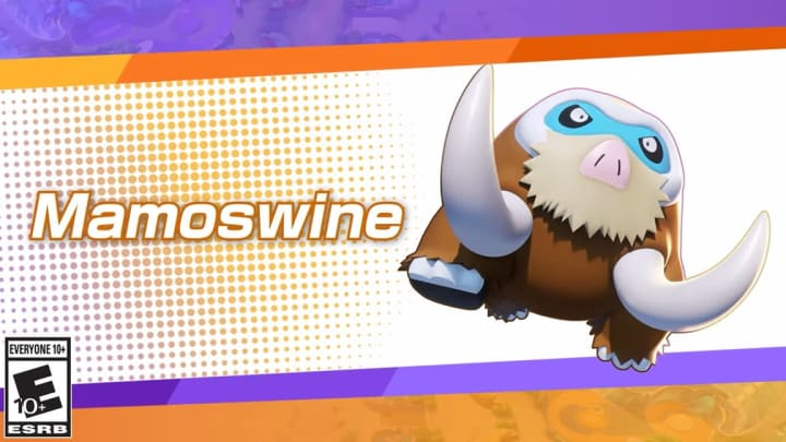 Mamoswine is coming to Pokemon UNITE—and now we finally know when.