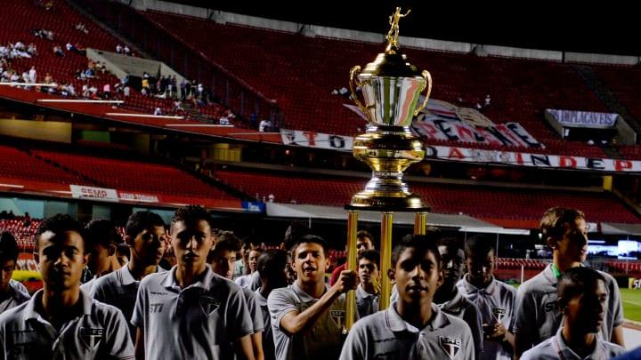 Equipe sub-15 do São Paulo.