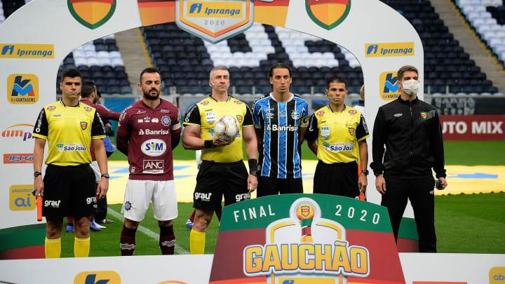 Caxias e Grêmio fizeram a final do último Estadual