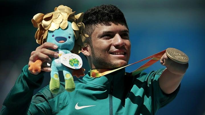 Petrucio Ferreira medalha ouro Paralimpiada