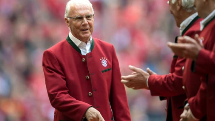 Beckenbauer es homenajeado en el Bayern