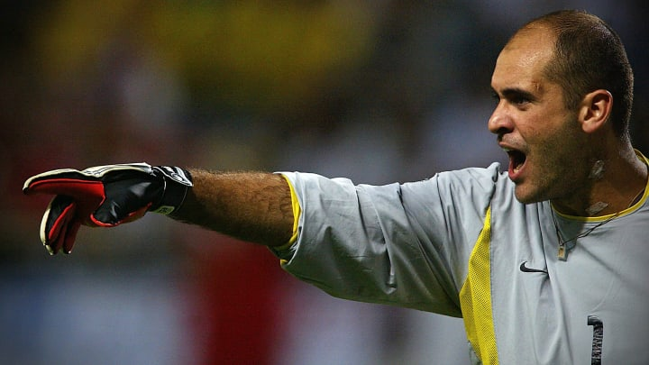 Marcos goleiro Brasil Copa 2002