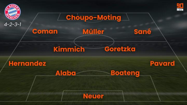 So könnte der FCB im Heimspiel gegen PSG auflaufen