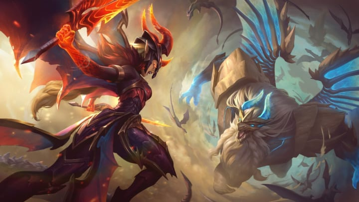 Riot Games has dropped five new skins into the League of Legends PBE, including three Dragonslayer additions. One of these is Dragonslayer Kayle.