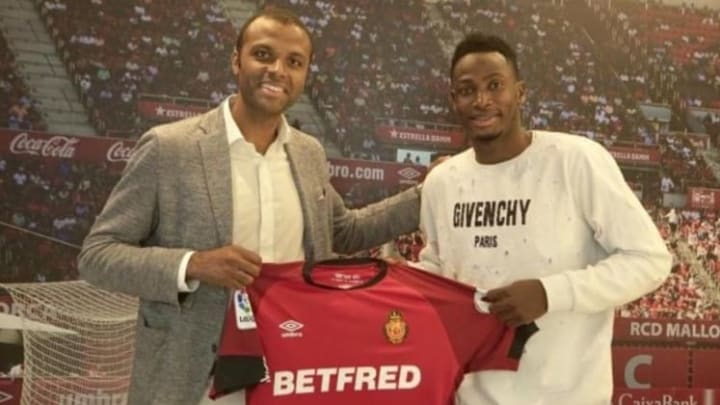 Baba Rahman trong ngày ra mắt Mallorca