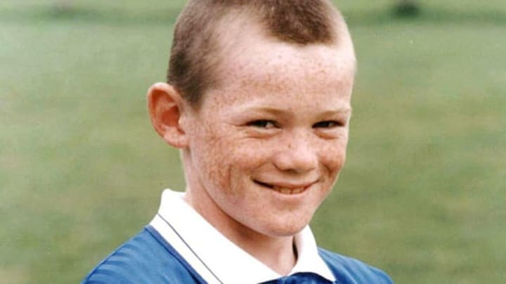 A young Wayne Rooney