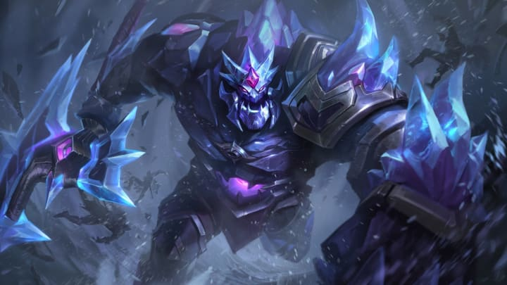 Blackfrost Sion's splash art, price, rarity and more can be found here.