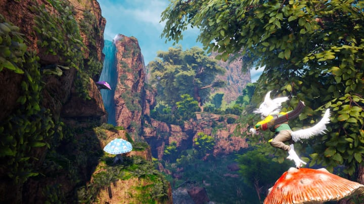Biomutant's Old World Storage shelters require slaying Fluff Hulks and doing a bit of tracking.