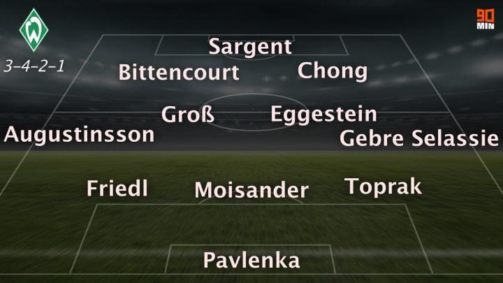 Weiter mit Dreierkette und Chong für Rashica? So könnte Werder gegen den VfB beginnen