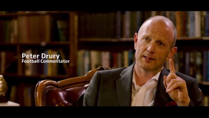 Peter Drury is the best commentator in modern day football history