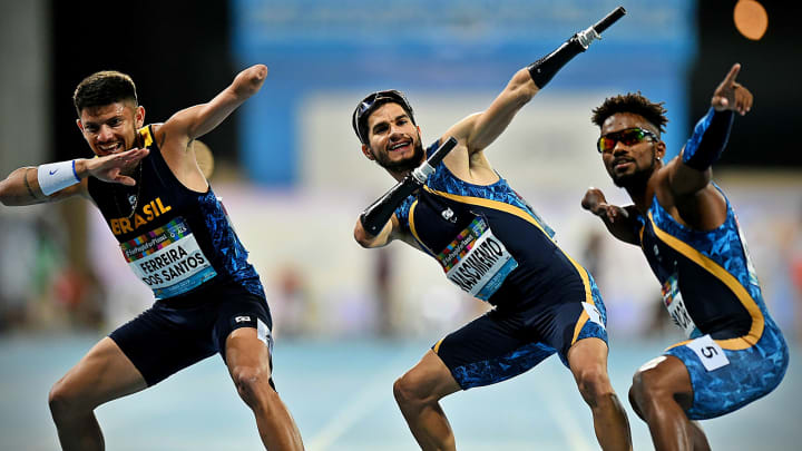 Petrucio revezamento atletismo Paralimpiadas