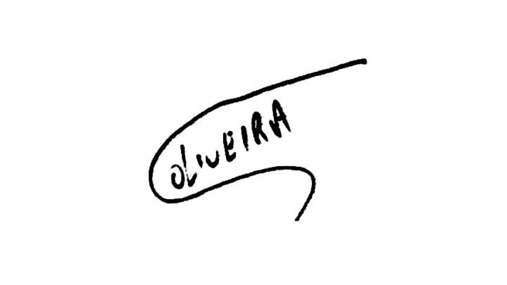 Autografo Charles do Bronx Oliveira