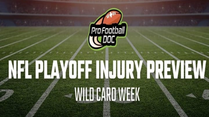 Injury report for the Los Angeles Rams vs Seattle Seahawks Wild Card Weekend matchup from ProFootballDoc.