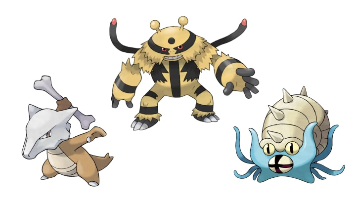 Cliff's second slot will be Marowak, Electivire or Omastar.